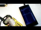 Cканер  SDR Touch+DVB T FM DAB 820T2 1750мГц на андроид телефоне!