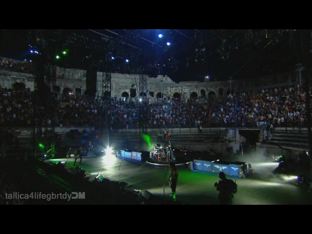 Metallica - Master Of Puppets [Live Nimes 2009] 1080p HD(37,1080p)/HQ