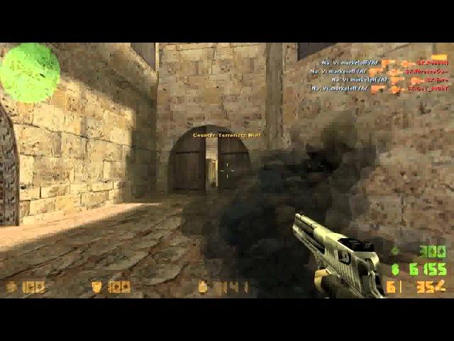 Let's Play CS 1.6 Silent Aim Best CFG AIM markeloff video
