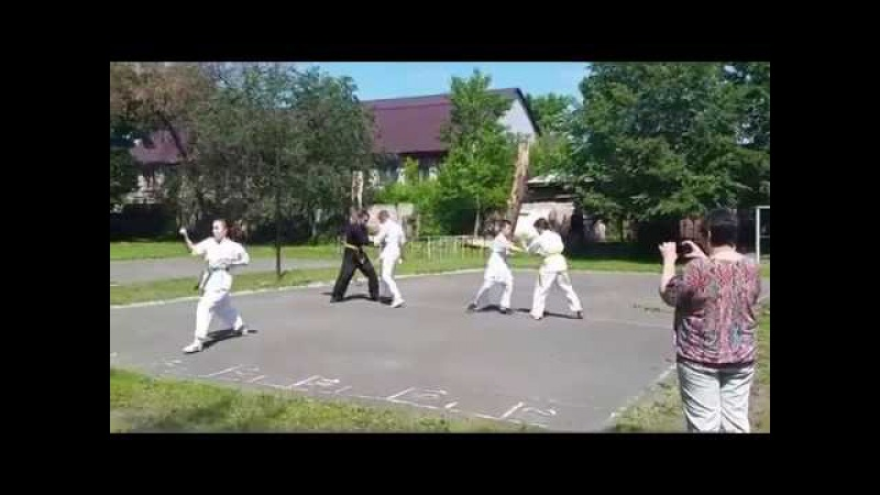Дайдокай (Бийск) Показательное выступление 08.06.2015