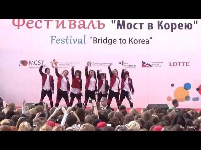 140614 K Pop World Festival 2014 BTS mix dance cover by Lollipop (3rd place)