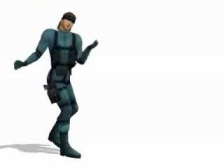 Miku Miku Dance Solid Snake