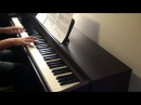 Skyfall - Adele Piano Cover by aldy32