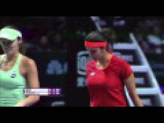 Sania Mirza | 2015 WTA Finals Hot Shot | Final