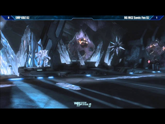 Injustice Grand Final EMP KDZ vs RG MCZ Sonic Fox - Winter Brawl 8 Tournament