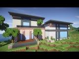Красивый дом в майнкрафт #2  - Timelapse - Серия 6.1  - Строительный креатив 2