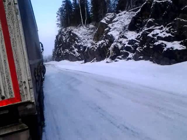 E 6 Kuskil Mosjöeni ja Trondheimi vahel 2015 02 12 15