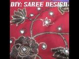 DIY: SEQUIN SAREE DESIGN!