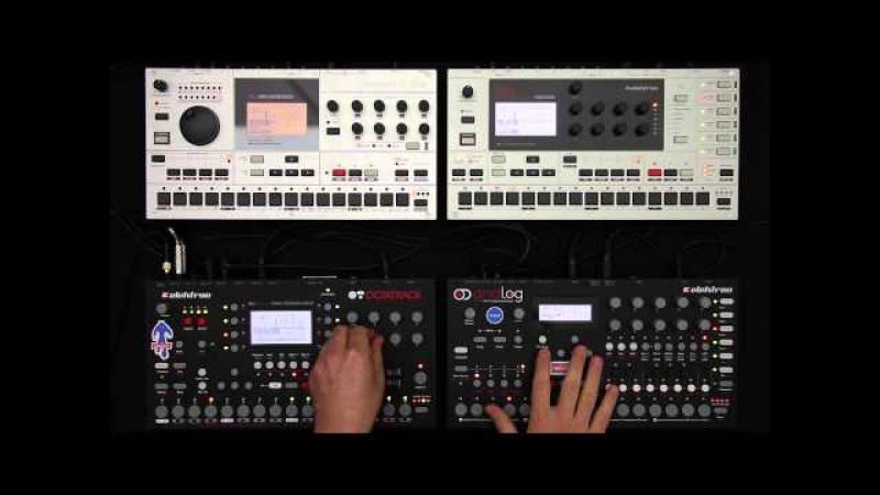 Elektron Jam Session 1: Analog Four, Octatrack, Machinedrum Monomachine