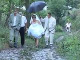 Сельская свадьба  Долгая дорога в грязи