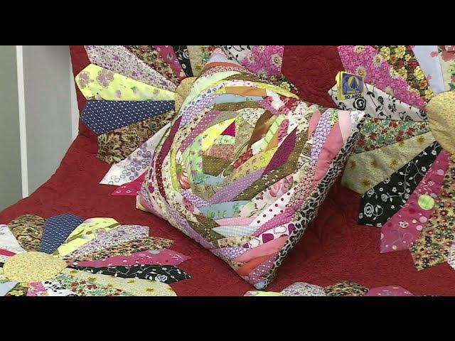 Vida com Arte | Capa para almofada em patchwork por Eliana Maria Yazbek - 19 de Setembro