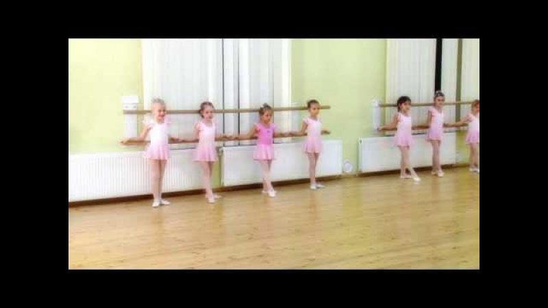 Балетная студия Princess открытый урок 5 лет