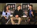 Mika Abogado of Sidewalk TV Interviews Rami Malek, Andrea Gabriel Angela Sarafyan (February 2013)