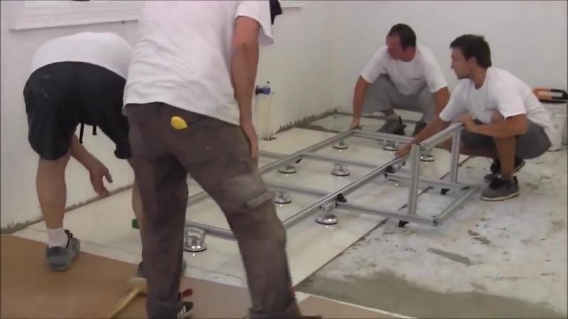 Укладка плитки размер 3х1,5 метра