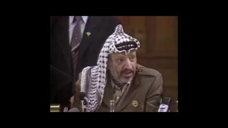 Arafat et Gilbert Rozon