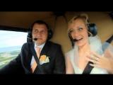 Красивая свадьба летчика