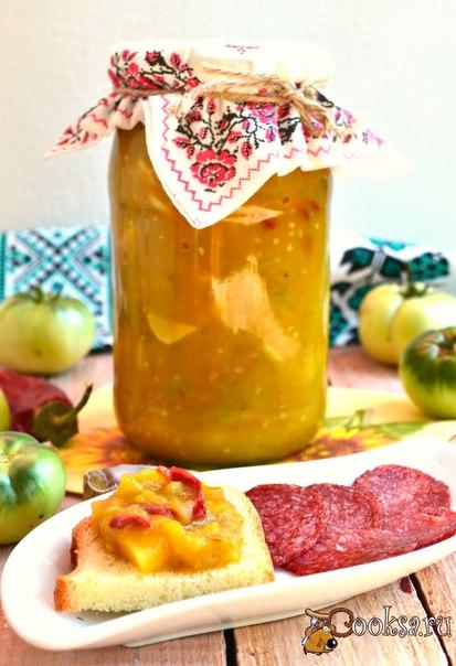 Острый соус из зеленых помидоров и яблок на зиму (в мультиварке) #соус #кулинария #заготовки #консервирование #вкусно #рецепты Острый соус из зеленых помидоров и яблок на зиму (в мультиварке) - отличная заготовка! Этот соус получается очень ароматным и вкусным: кисло-остро-сладким, чем-то похожим на сливовый соус. Подойдет он к курице, отварному мясу и отварным овощам. Очень вкусен этот соус и на ломтике хлеба с колбаской. Готовится совершенно просто. Из данного количества продуктов получится…