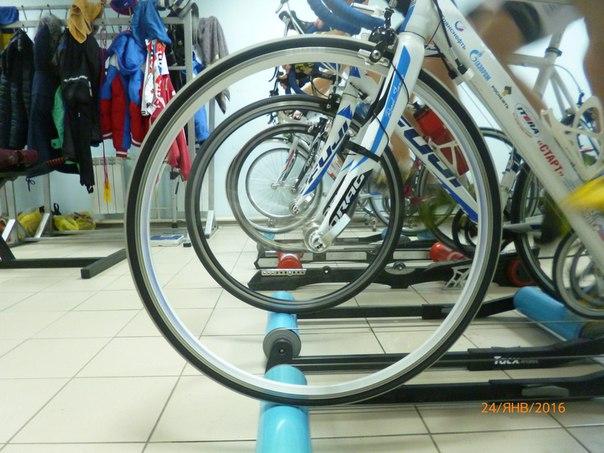 Орская велошкола. Одна из многочисленных тренировок.