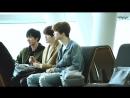 FANCAM 160211 NCT Ten, Jaehyun Johnny at Incheon Airport