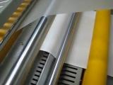 Выпрямление пленки рулонным ламинатором Bulros professional series при одностороннем ламинировании