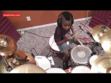 Deep Purple - Smoke on the Water, 7 Year Old Drummer