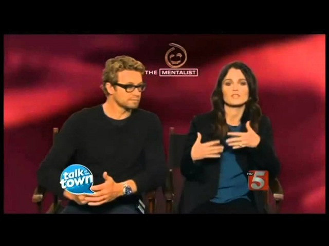 Simon Baker and Robin Tunney Interview Jisbon´s best part of the show