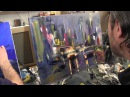Художник Игорь Сахаров, как научиться рисовать город, уроки рисования