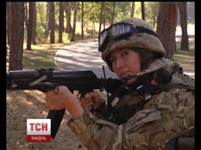 Жінки-військові у зоні АТО воюють на рівні з чоловіками