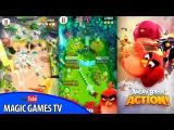 Играем в новую Энгри Бёрдз | Angry Birds Action (iPad Gameplay Video)