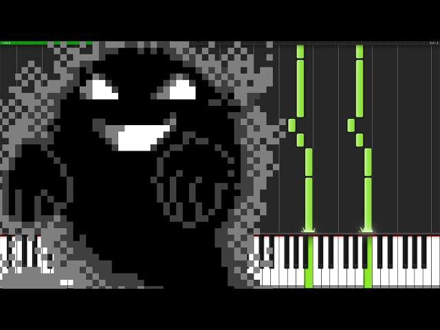 Lavender Town - Pokémon [Piano Tutorial] (Synthesia) Min Yeo