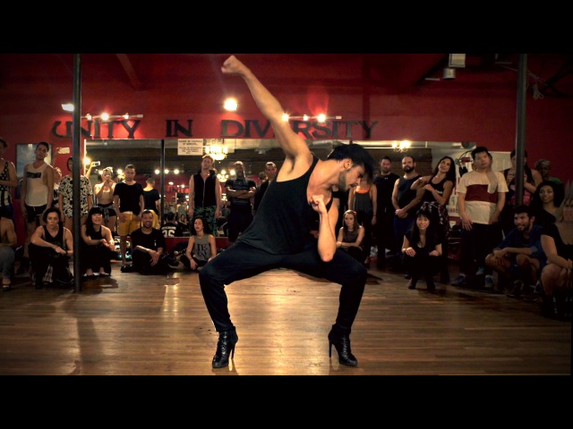YANIS MARSHALL HEELS CHOREOGRAPHY 7/11 BEYONCÉ. MILLENNIUM IN LOS ANGELES. FILMED BY @timmilgram