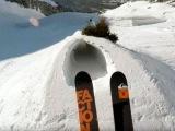 Один день глазами безумного лыжника-экстремала, который заставит ваши ладони вс...