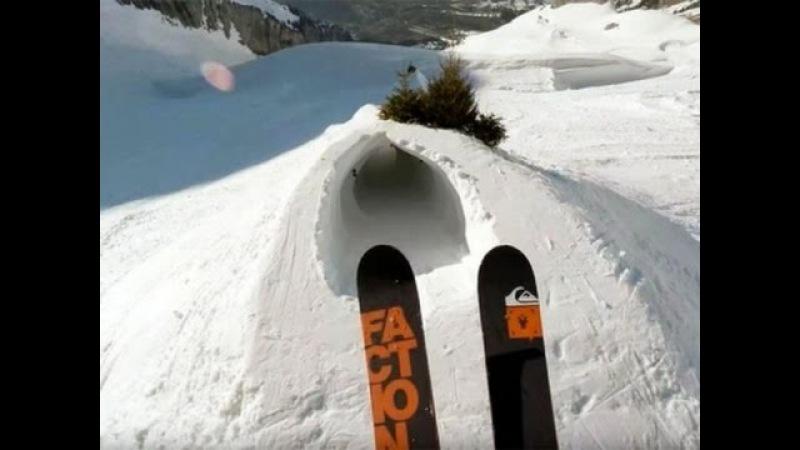 Один день глазами безумного лыжника-экстремала, который заставит ваши ладони вспотеть