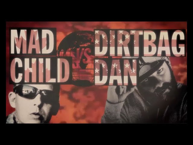 KOTD - Rap Battle - Dirtbag Dan vs MadChild (Swollen Members) | WD2