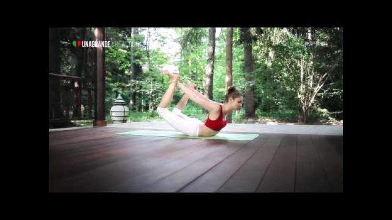 Тонкая талия за 30 минут Йога для начинающих