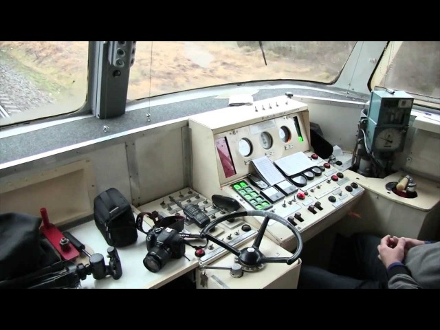 Ускорение ремоторизированного дизель поезда ДР1A Acceleration of remotorized DR1A DMU