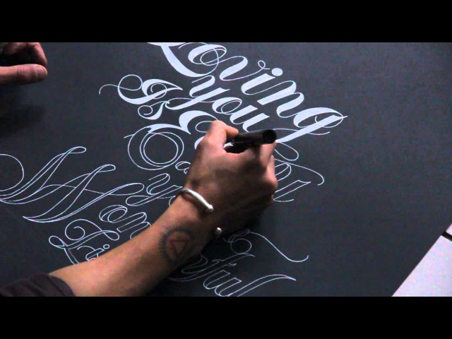 Loving You - speed drawing (POSCA paint markers)