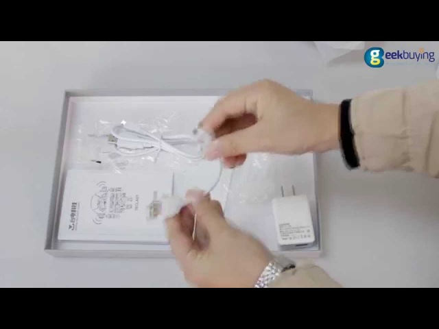Teclast X98 Air 3G Dual Boot Unboxing Video (Windows 8.1 Android 4.4)