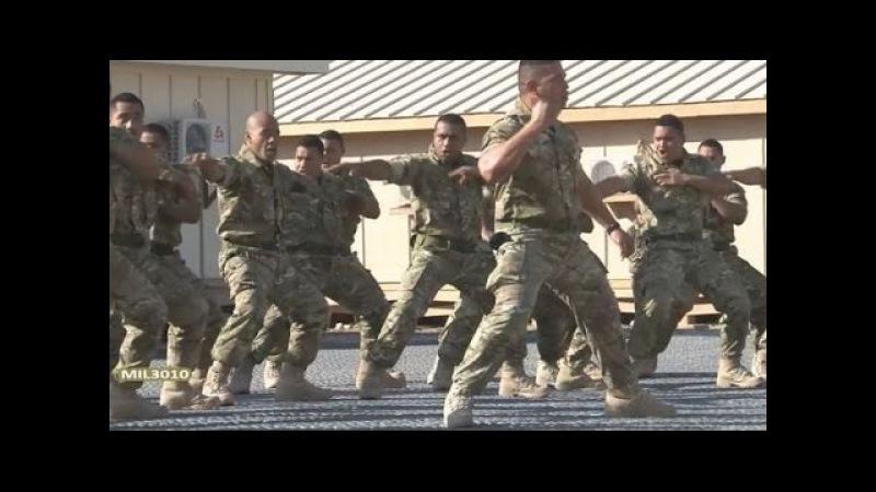 Хака Морской пехоты Тонга в Афганистане / Haka Royal Tongan Marines