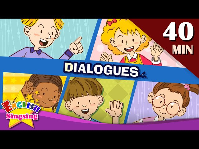 Good morningMore Kids Dialogues | Learn English for Kids | Collection of Easy Dialogue