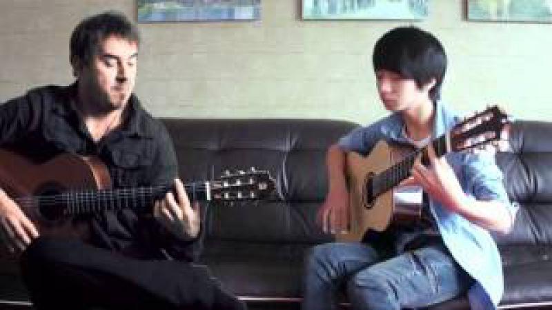 Cancion Del Mariachi - soYmartino Sungha Jung