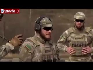 Как чеченский спецназ воюет с