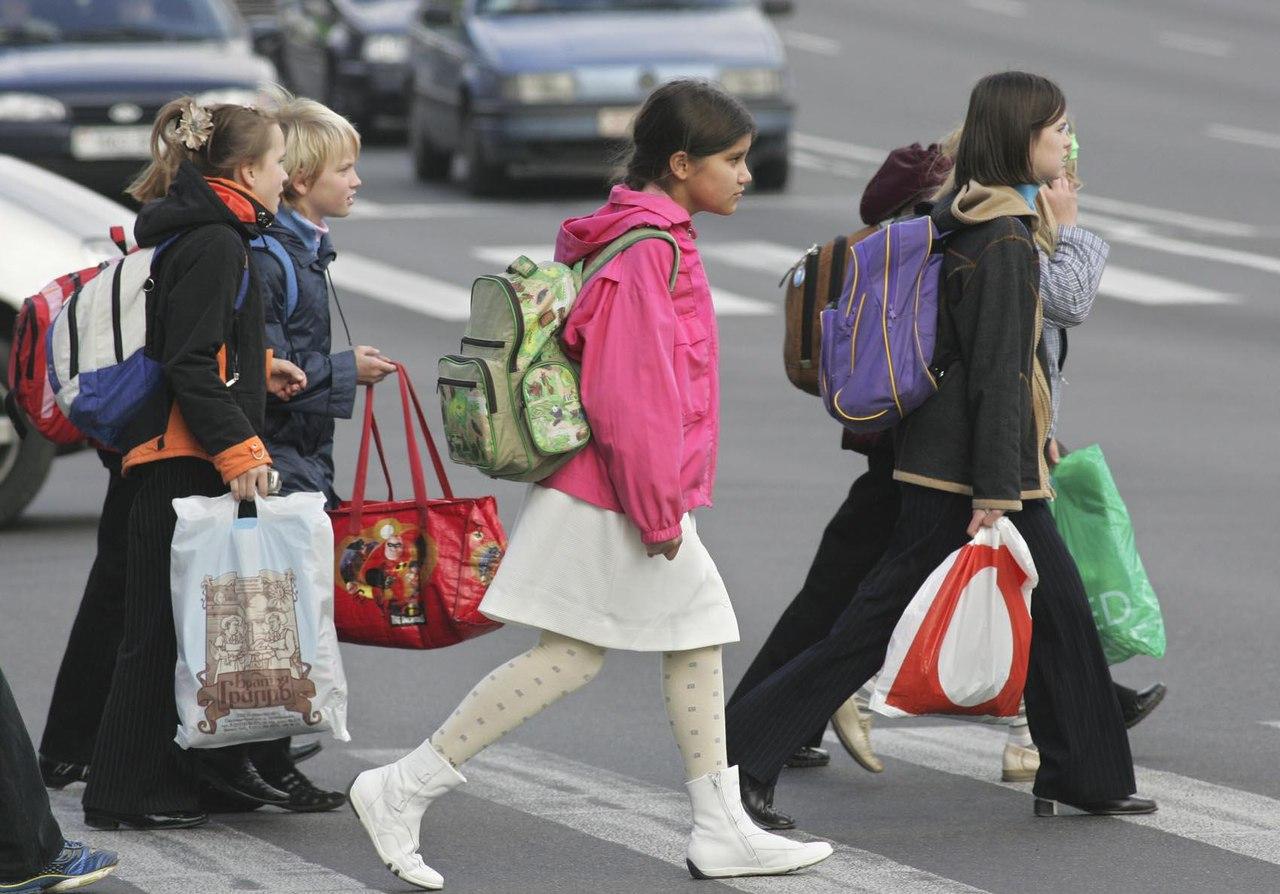 Дети на дорогах фото