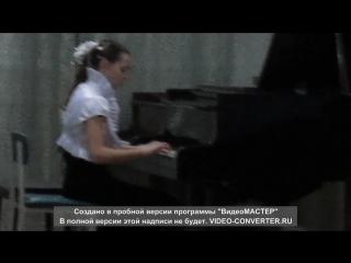 Лера пианистка