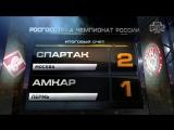 Обзор матча: Футбол. РФПЛ. 20-й тур. Спартак - Амкар 2:1
