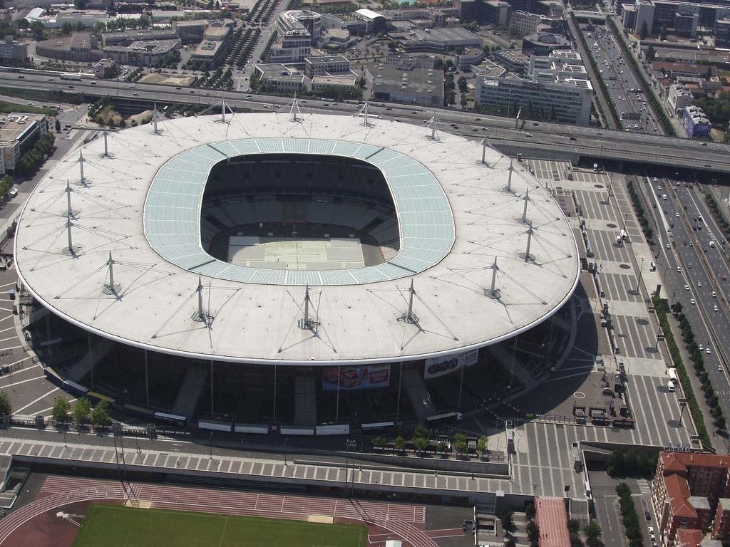 Стад де Франс (Stade de France). Сен-Дени, Франция.