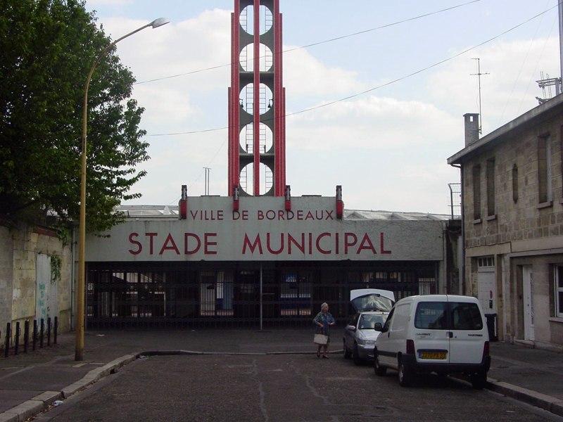 Стадион Шабан-Дельма (Stade Jacques-Chaban-Delmas). Бордо, Франция.