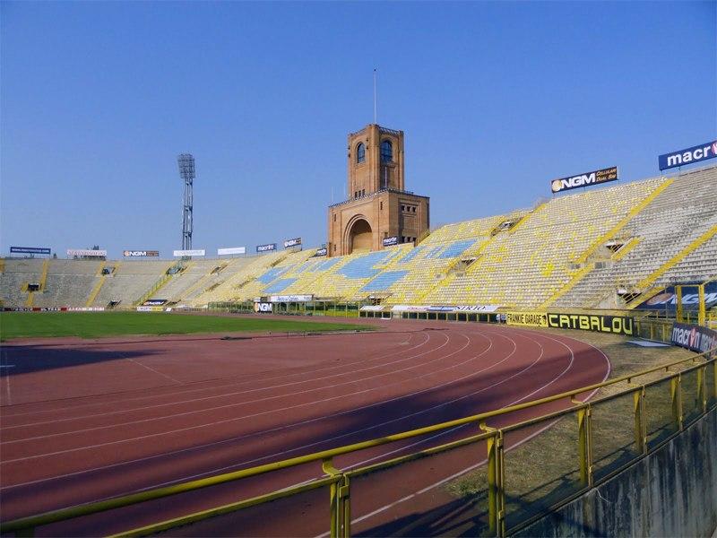 Стадион Ренато Далл'Ара (Stadio Renato Dall'Ara). Болонья, Италия.