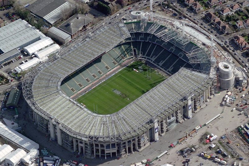 Стадион Твикенхэм (Twickenham Stadium). Лондон, Англия.