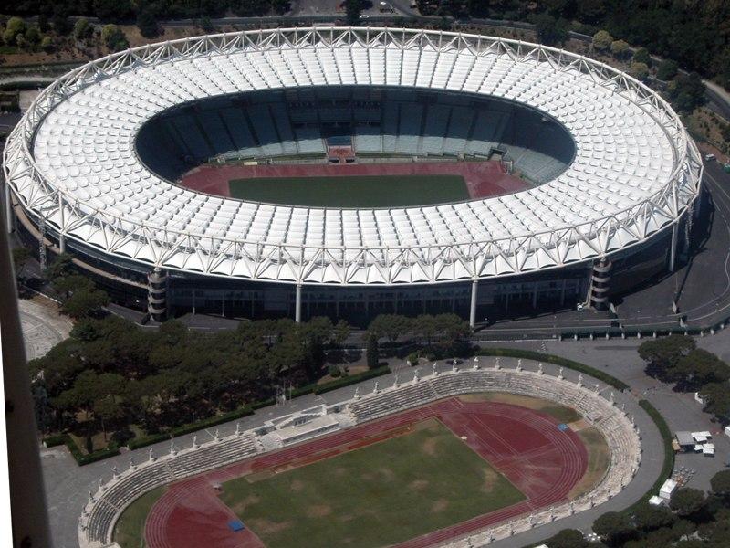 Олимпийский стадион (Stadio Olimpico). Рим, Италия.
